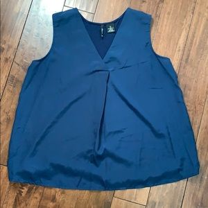 New Directions Navy Top